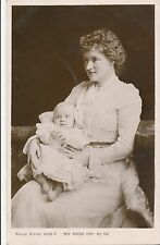 POSTCARD  ACTRESSES   Winifred  Emery & Baby