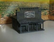 HO WILD WEST GOST TOWN ASSEMBLED BUILDING NO LONGER MADE general store