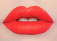 LIME CRIME VELVETINES SUEDEBERRY BRIGHT CORAL MATTE LIPSTICK LIP STAIN COSMETICS