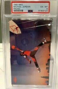 1985 Nike Michael Jordan Promo Rookie Card, Graded PSA 6 EX-MT Low Reserve!