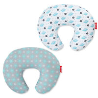 Nursing Pillow Cover Snug Fits Breastfeeding Pillow Slipcover Zipper 2 Pack