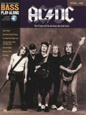 AC/DC Bass Guitar Play-Along Vol 40 TAB Book & Audio Back in Black Rock