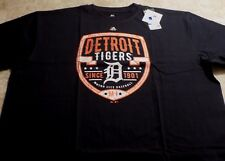 Detroit Tigers Patch Logo T-shirt 3XL Motor City Baseball Established Logo MLB