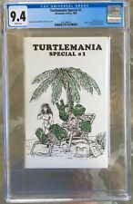 Turtlemania Special #1 (1986) CGC 9.4 -- White pgs; Kevin Eastman & Peter Laird