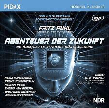 Abenteuer der Zukunft * CD Hörspiel Sci-Fi-Hörspielreihe Fritz Puhl Pidax MP3-CD