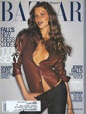 Harper's Bazaar Magazine August 1999 Gisele Bundchen Cover