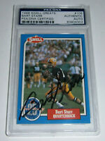 PACKERS Bart Starr signed card 1988 Swell #108 AUTO PSA/DNA Slab Autographed HOF