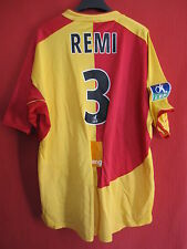 Maillot Racing Club de Lens RCL Orange Porté n°3 Remi - XL