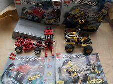 2 BOXED LEGO TECHNIC SPEED SLAMMERS SETS 8237 8240 FORMULA FORCE SLAMMER STUNT B