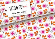 Shield Pro Albstoffe Hamburger Liebe Summer Vibes weiss Maskenstoff 25 cm