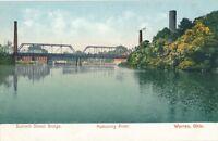 WARREN OH – Summit Street Bridge and Mahoning River