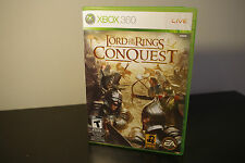 The Lord of the Rings: Conquest (Microsoft Xbox 360, 2009) *Tested / Complete