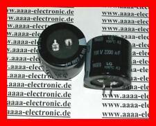 YAGEO ELKO Kondensator 2200 µF 100 V 105° 2 Stück