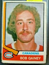 1974-75 O-Pee-Chee #388 Bob Gainey Canadiens ROOKIE CARD**FREE COMBINED SHIP**