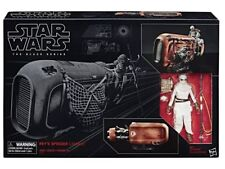 "REY'S SPEEDER force awakens JAKKU Star Wars Black Series 6"" inch NEW sealed tfa"