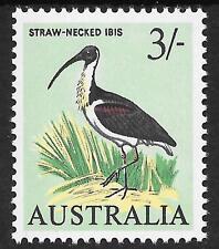 AUSTRALIA 3 SHILLING IBIS SG365 1965 M.N.H.