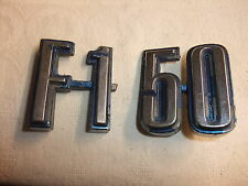 u alt Original Oldtimer Emblem Schriftzug Typenschild Kühleremblem Marke F 150