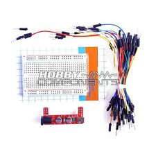 Breadboard Kit - Power Supply Module, 400 Point Bread Board, 65 Jumper Wires