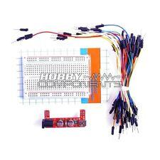 Protoboard Kit-fuente de alimentación de módulo, 400 punto Bread Board, 65 Jumper cables