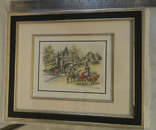 Claude Roy Quebec Signed Original Print