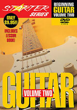 Beginning Guitar Learn to play Lesson Book & DVD Vol 2
