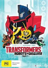 Transformers Robots In Disguise: Season 1 NEW R4 DVD