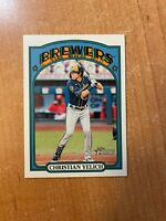 2021 Topps Heritage - Christian Yelich - #251 Action Variation SP BREWERS