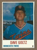 1978 Hostess #96 Dave Goltz  Twins        (20% *Rebate w 10 Item Order!!)