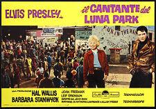 CINEMA-fotobusta IL CANTANTE DEL LUNA PARK e. presley