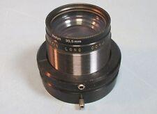 Kodak 176mm f/4.5 Lens Long Conj. w/ Rolyn 35,5mm Attachment Used