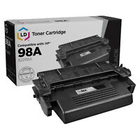 LD Remanufactured Replacement for HP 98A / 92298A Black Toner Cartridge