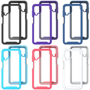 For Samsung Galaxy A12  Phone Case Shockproof Hybrid Clear Cover