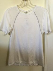 New Women's Craft Cool Concept Base Layer Size Small Short Sleeve