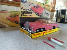 RARE Original Dinky 100 FAB 1 | Lady Penelope Rolls Royce Thunderbirds Toy 1966