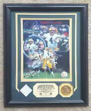 Autographed Brett Favre Photo: 300th TD Pass, Highland Mint Green Bay Packers