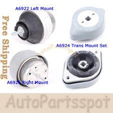 Fits 96-06 Audi A4 A6 S4 / 98-05 VW Passat B5 Engine Motor Trans Mount Set G118