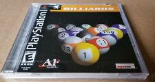 Billiards (Playstation PS1) New and Factory Sealed