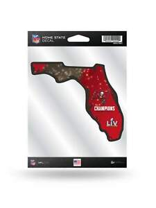 Tampa Bay Buccaneers 2020-2021 Super Bowl LV Champions Home State Sticker