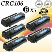 5 PK 106 Toner Cartridge for CANON 106 ImageClass MF6530 MF6540 MF6590 MF6595