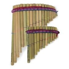 More details for panpipes - curved - rondador - 13 or 20 pipes - fairly traded from ecuador