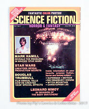 Science Fiction, Horror & Fantasy Magazine 1978- Inside Star Wars - CE3K - Nimoy