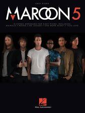 Maroon 5 Sheet Music Easy Piano Book NEW 000152665