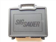 Sig Sauer Black Plastic Factory Pistol Case, NEW