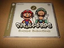 Mario & Luigi RPG Sound Selection / Club Nintendo Soundtrack CD NOT SOLD