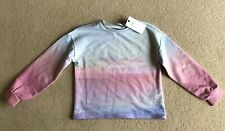 M & S Girls Jumper, 10 to 11yrs, Pink & Blue, Unworn, brand new, with tags.