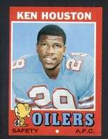 1971 Topps #113 Ken Houston NM/NM+ RC Rookie Oilers 65654