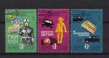 La Russia. 1979 SG # 4945-7 la sicurezza stradale SERIE CTO