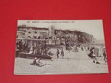 CPA CARTE POSTALE 1915 DIEPPE SEINE MARITIME HTE NORMANDIE PLACE CASINO FALAISES