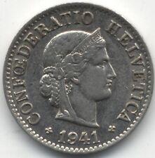 1941 B Switzerland 5 Rappen***Collectors***High Grade***