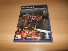 KING'S FIELD IV FOR PLAYSTATION 2 'PAL FREE UK POST  NEW SEALED